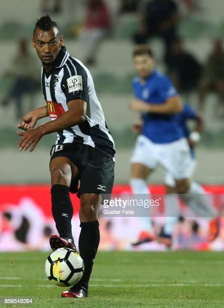 September 18: Portimonense SC forward Fabricio from Brazil in action during the Portuguese Primeira Liga match between Portimonense SC and CD...