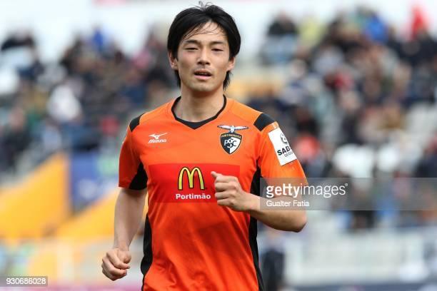 Portimonense SC forward Shoya Nakajima from Japan during the Portuguese Primeira Liga match between Portimonense SC and Vitoria Guimaraes at Estadio...