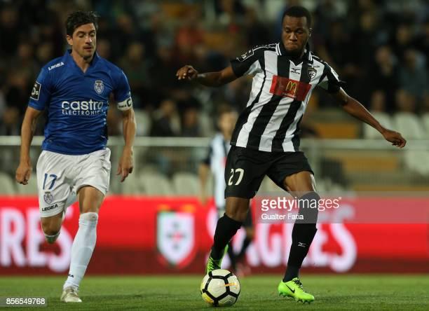 Portimonense SC forward Wellington Carvalho in action during the Portuguese Primeira Liga match between Portimonense SC and CD Feirense at Estadio...