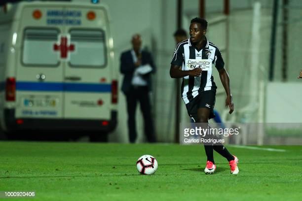 Portimonense SC forward Wilson Manafa from Portugal during the Portimonense SC v FC Porto PreSeason Friendly match at Estadio Municipal de Portimao...