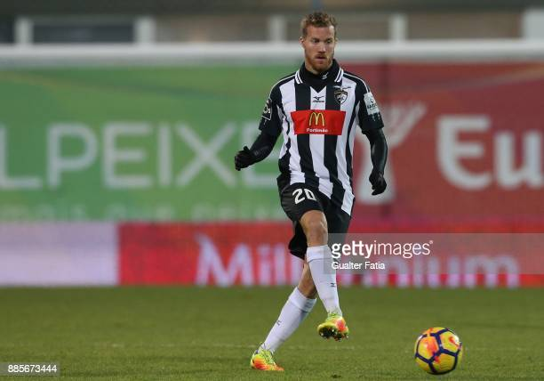 Portimonense SC midfielder Oriol Rosell from Spain in action during the Primeira Liga match between GD Estoril Praia and Portimonense SC at Estadio...