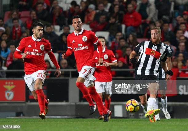 Portimonense SC midfielder Oriol Rosell from Spain in action during the Portuguese League Cup match between SL Benfica and Portimonense SC at Estadio...