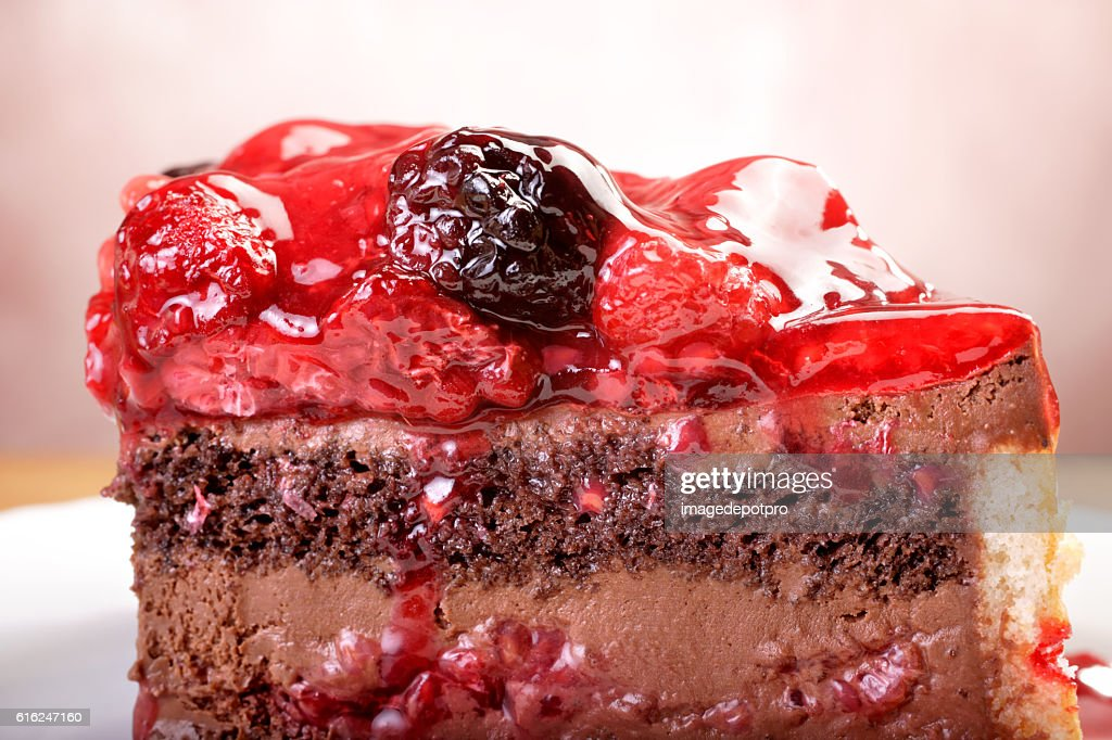 portion of fruit cake : Foto de stock