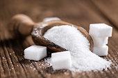 Portion of White Sugar