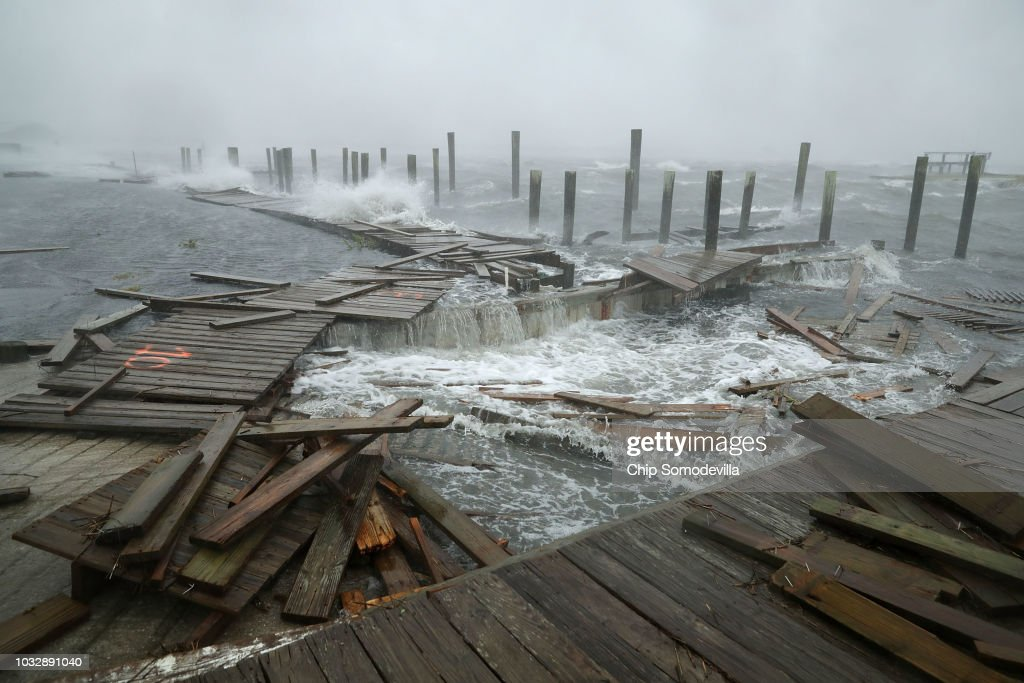 Carolinas Prepare As Hurricane Florence Approaches : News Photo