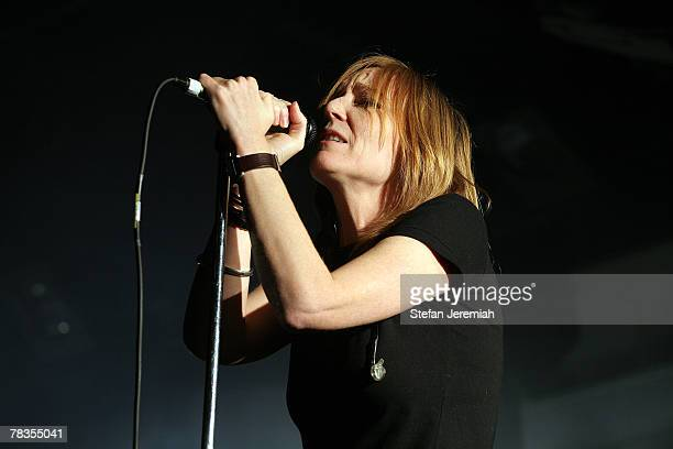 Portishead performs at All Tomorrow's Parties, Nightmare Besfore Xmas on December 8, 2007 at the Butlins Holiday Centre in Minehead, England.