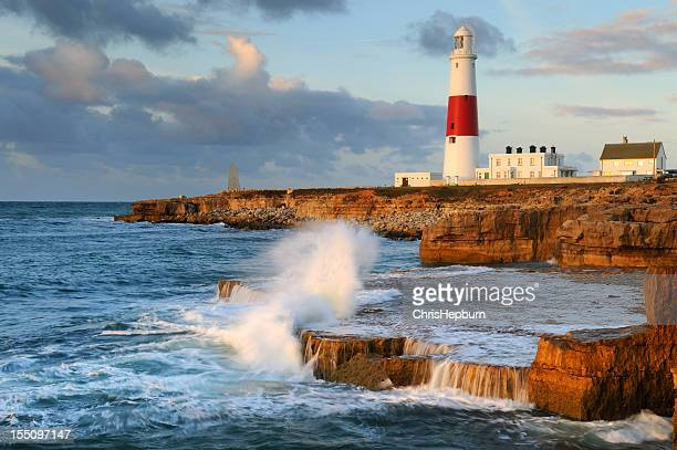 portland bill lighthouse - weymouth dorset stock pictures, royalty-free photos & images