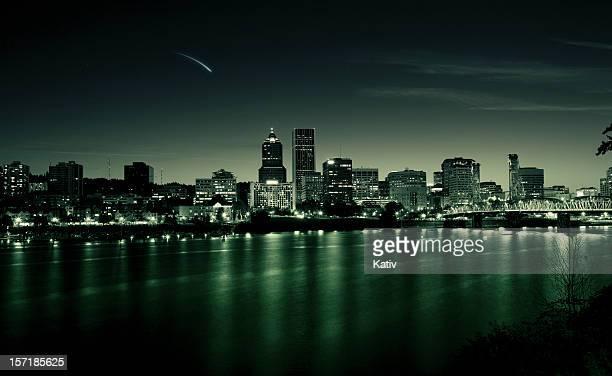 Paisaje de la ciudad de Portland, Oregon