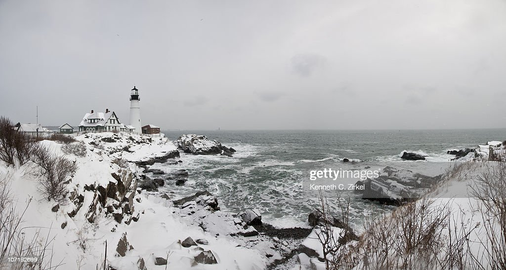 Portland Head Lighthouse : Stock Photo