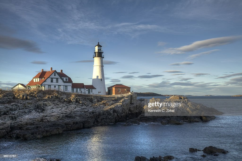 Portland Head Lighthouse : Stock Photo