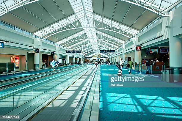 Portland International Airport Moving Walkway