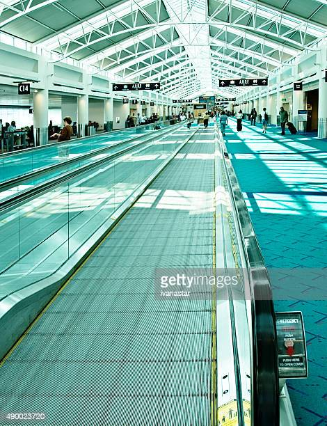 Portland International Airport Moving Walkway