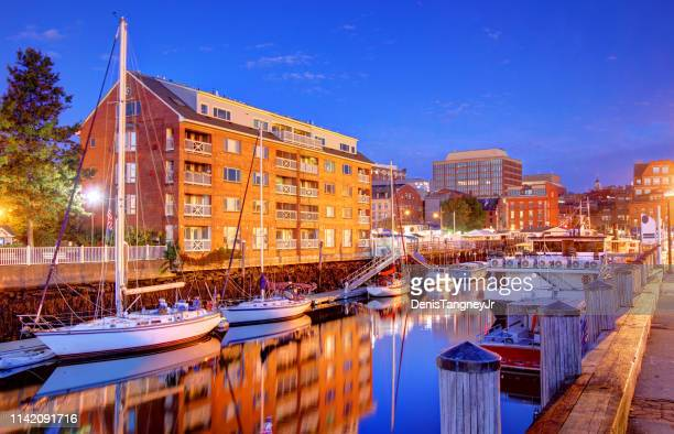 portland, maine - maine stock pictures, royalty-free photos & images