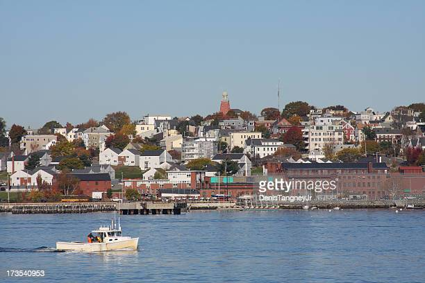 portland maine - portland maine stock photos and pictures