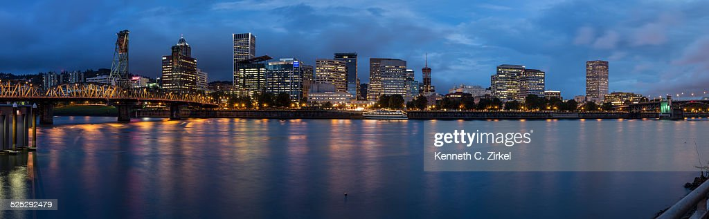 Portland Panorama : Stock Photo