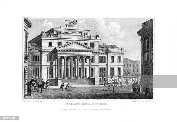 Portland Place Brighton East Sussex 1829