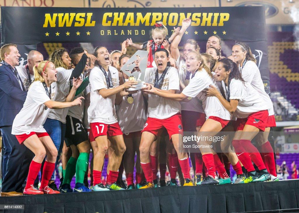 SOCCER: NOV 14 NWSL Championship - North Carolina Courage v Portland Thorns : News Photo