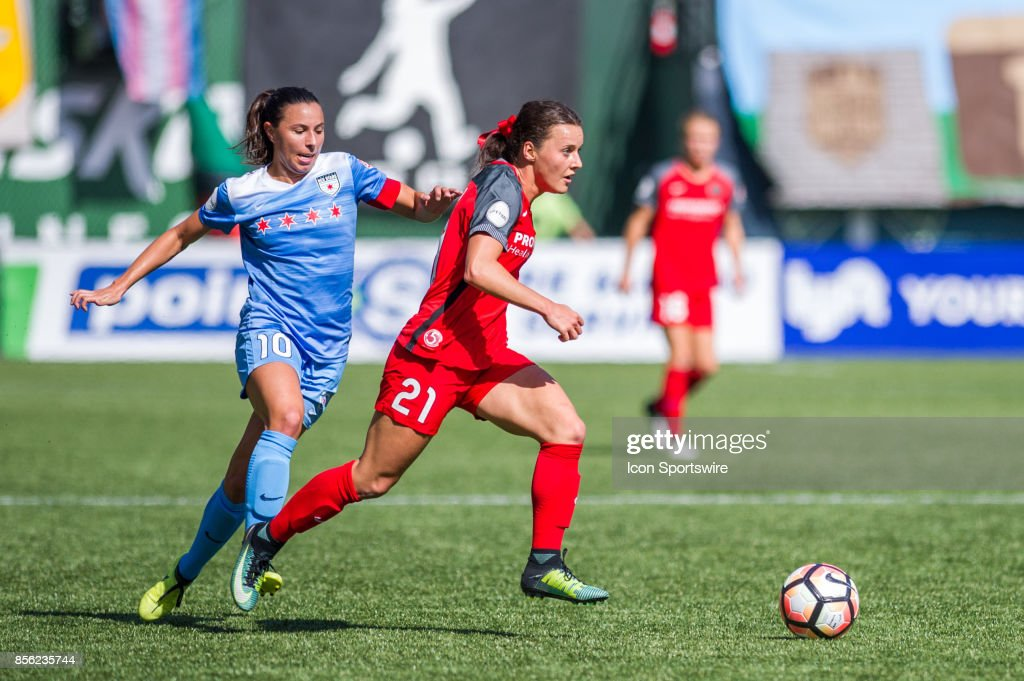 SOCCER: SEP 30 NWSL - Chicago Red Stars at Portland Thorns FC : News Photo