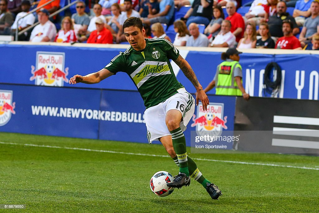 Portland Timbers Defender Zarek Valentin (16) During The Second Half Of The  Game Between