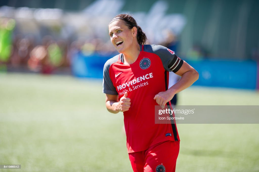 Portland Timbers forward Christine Sinclair during the Portland... News  Photo - Getty Images