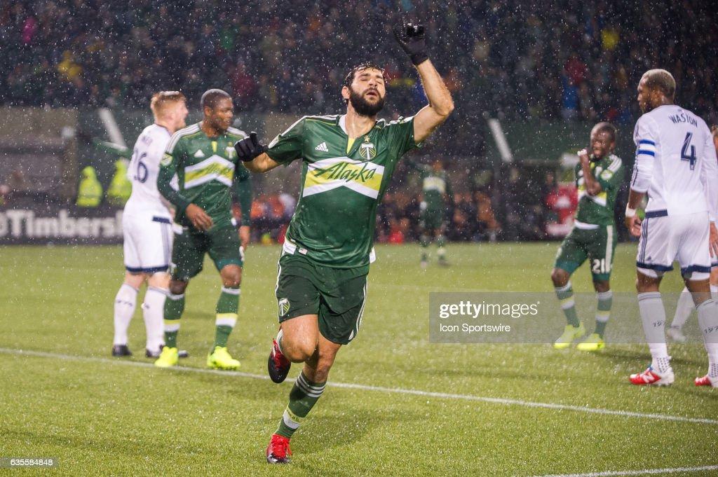 SOCCER: FEB 15 MLS - Preseason - Vancouver Whitecaps at Portland Timbers : News Photo