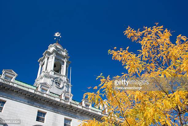 portland townhall - portland maine stock pictures, royalty-free photos & images