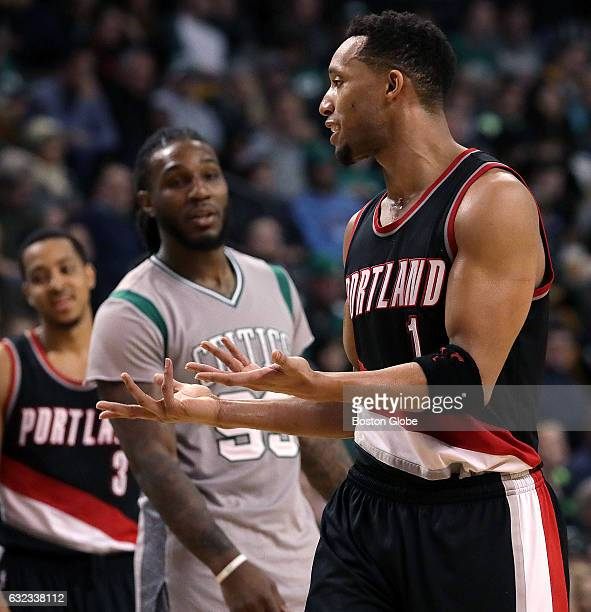 Portland Trail Blazers guard Evan Turner appeared to explain what happened to his former teammate Boston Celtics forward Jae Crowder The Boston...