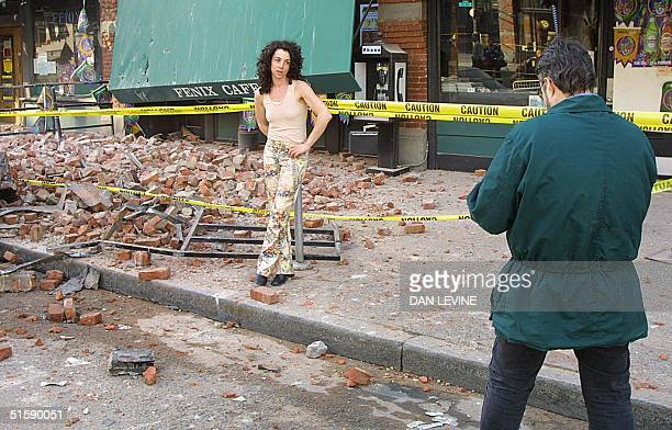 Portlandbased singer/songwriter Juana Camilleri took advantage of the rubble created by a 68 earthquake on 28 February in Seattle to have her manager...