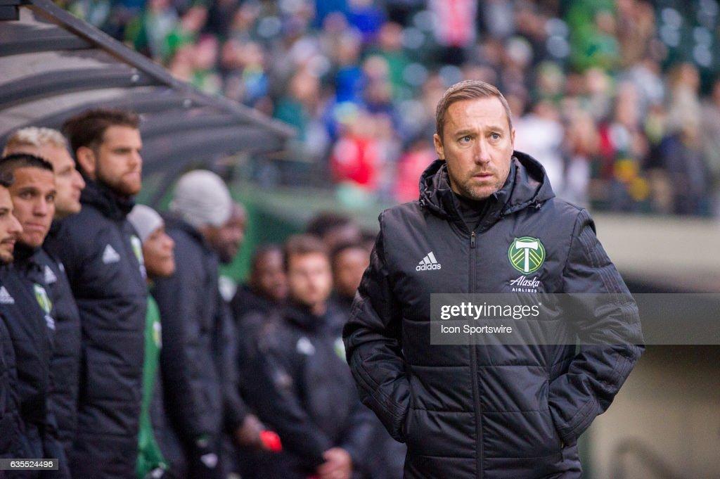 SOCCER: FEB 12 MLS - Preseason - Minesota United FC at Portland Timbers : News Photo