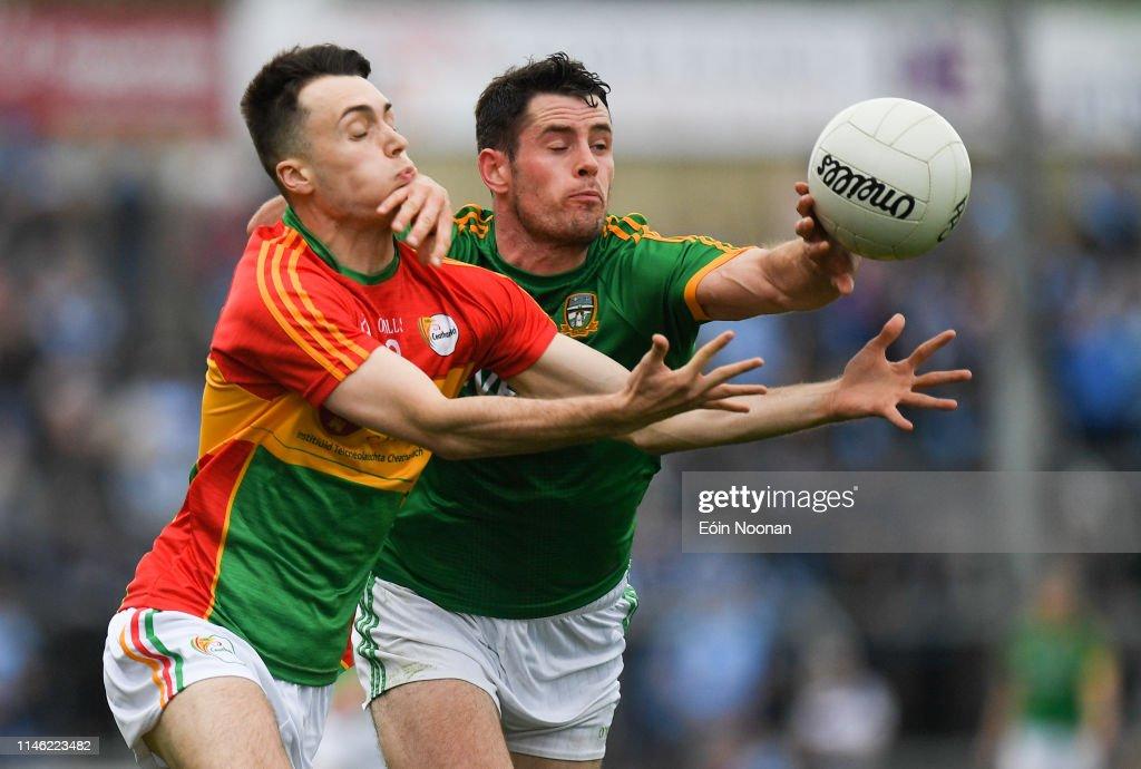 IRL: Carlow v Meath - Leinster GAA Football Senior Championship Quarter-Final