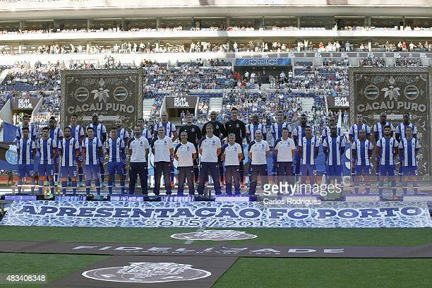Porto 20152016 during the preseason friendly between FC Porto and Napoli at Estadio do Dragao on August 8 2015 in Porto Portugal