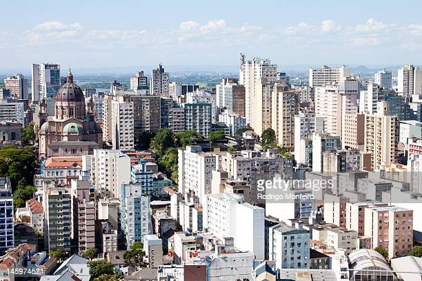 porto alegre historic district - porto alegre stock pictures, royalty-free photos & images