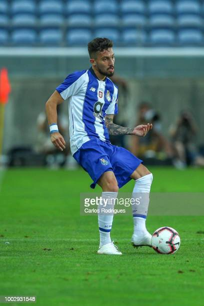 Porto defender Alex Telles from Brazil during the match between FC Porto v LOSC Lille for Algarve Football Cup 2018 at Estadio do Algarve on July 20...