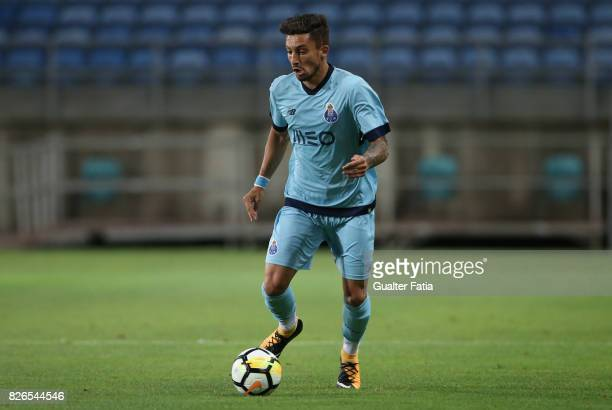 Porto defender Alex Telles from Brazil in action during the PreSeason Friendly match between Portimonense SC and FC Porto at Estadio Algarve on July...
