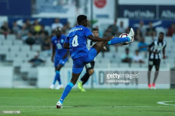 Porto defender Chidozie Awaziem from Nigeria during the Portimonense SC v FC Porto PreSeason Friendly match at Estadio Municipal de Portimao on July...