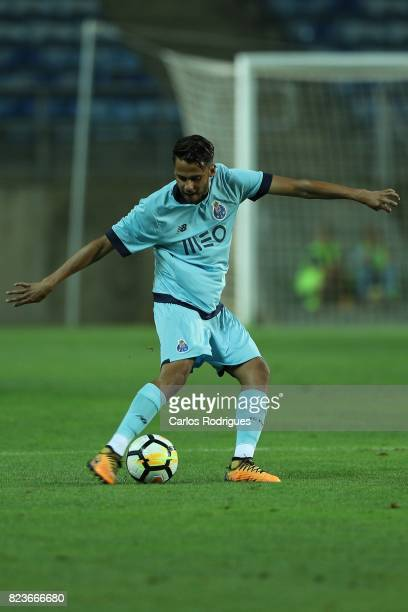 Porto defender Diego Reyes from Mexico during the PreSeason Friendly match between Portimonense SC and FC Porto at Estadio do Algarve on July 27 2017...