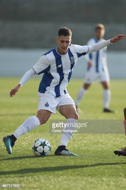 Porto defender Diogo Dalot from Portugal during the match between FC Porto v AS Monaco for the UEFA Youth Champions League match at Centro de Treino...