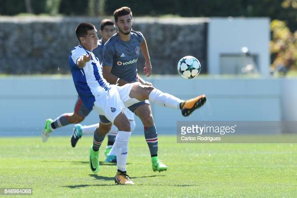 Porto defender Diogo Leite from Portugal during the the UEFA Youth Champions League match between FFC Porto and Besiktas JK at Centro de Treino do...