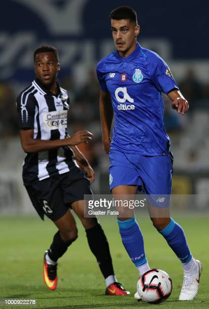 Porto defender Diogo Leite from Portugal in action during the PreSeason Friendly match between Portimonense SC and FC Porto at Estadio Municipal de...