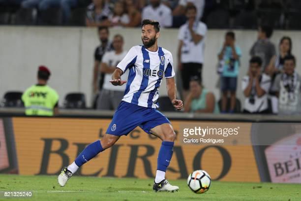 Porto defender Felipe from Brazil during the match between Vitoria Guimaraes v FC Porto match for the Guimaraes City Trophy at Estadio da Dom Afonso...