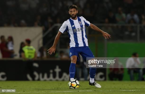 Porto defender Felipe from Brazil in action during the PreSeason Friendly match between Vitoria de Guimaraes and FC Porto at Estadio D Afonso...