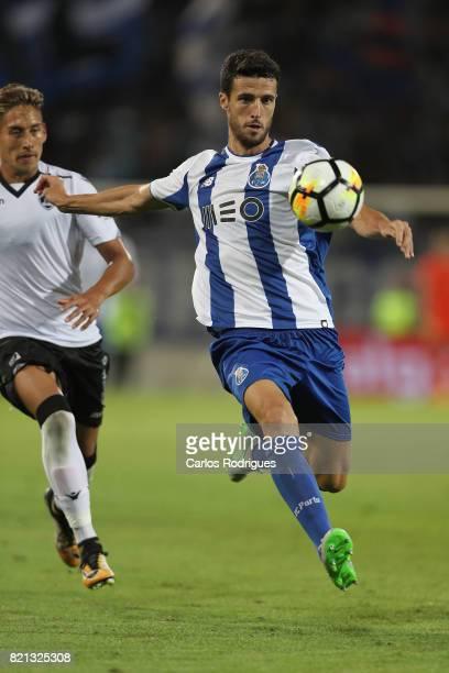 Porto defender Ivan Marcano from Spain during the match between Vitoria Guimaraes v FC Porto match for the Guimaraes City Trophy at Estadio da Dom...