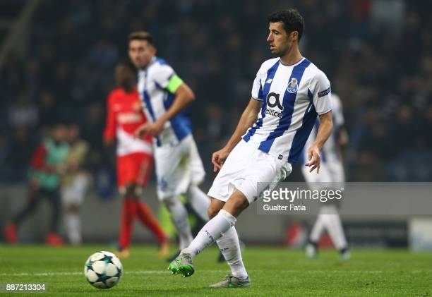 Porto defender Ivan Marcano from Spain in action during the UEFA Champions League match between FC Porto and AS Monaco at Estadio do Dragao on...