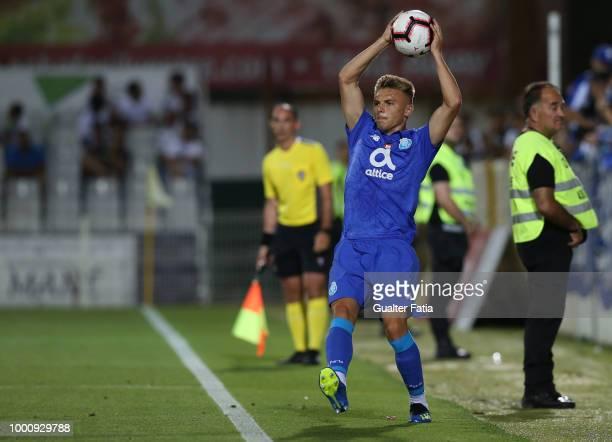 Porto defender Oleg Reabciuk from Moldavia in action during the PreSeason Friendly match between Portimonense SC and FC Porto at Estadio Municipal de...