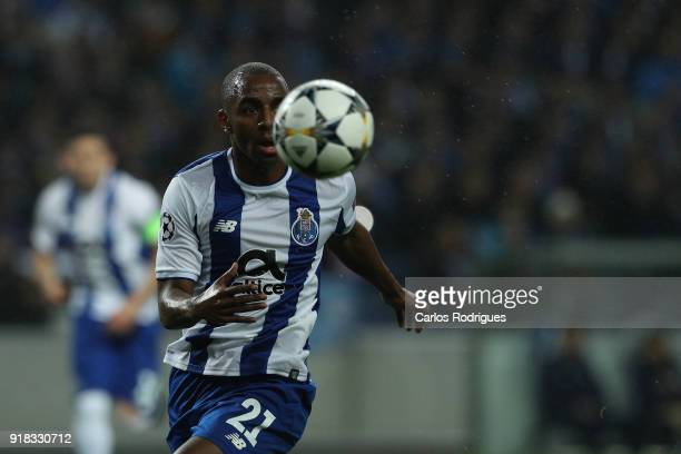 Porto defender Ricardo Pereira from Portugal during the UEFA Champions League Round of 16 First Leg match between FC Porto and Liverpool at Estadio...