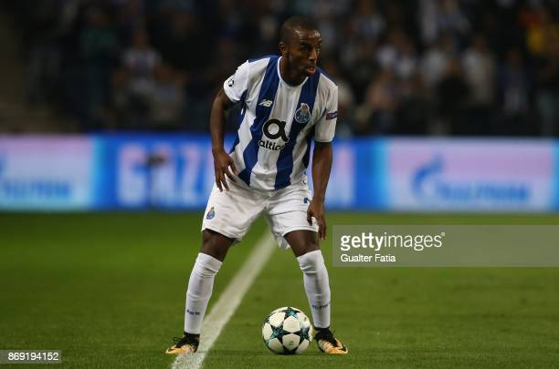 Porto defender Ricardo Pereira from Portugal in action during the UEFA Champions League match between FC Porto and RB Leipzig at Estadio do Dragao on...