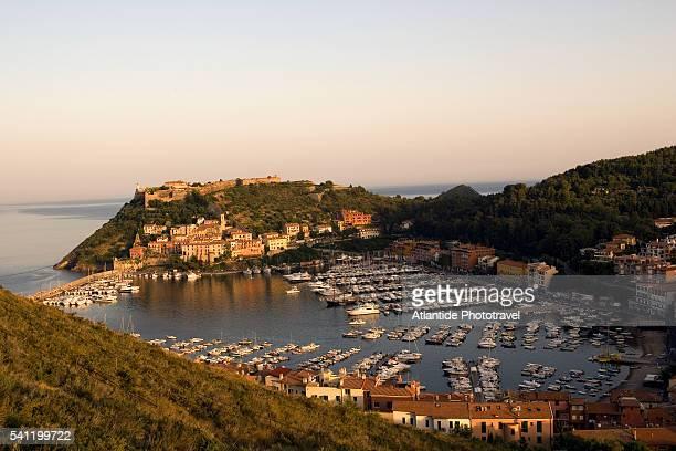 Porto Ercole Marina and Hillside Houses