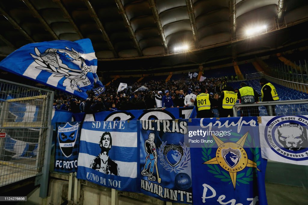 ITA: AS Roma v FC Porto - UEFA Champions League Round of 16: First Leg
