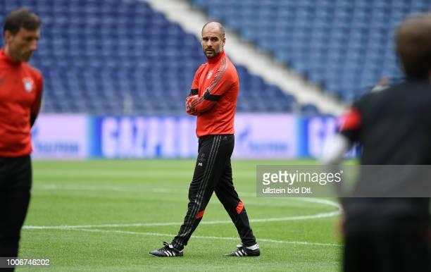 Porto FC Bayern Muenchen Abschlusstraining FC Bayern Muenchen im Stadion Dragao Trainer Pep Guardiola