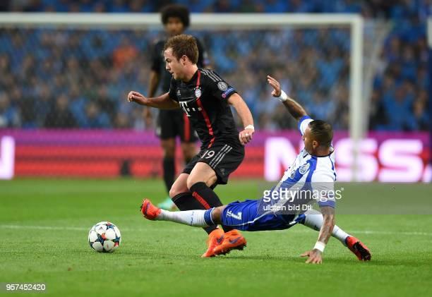 Porto FC Bayern Muenchen Mario Goetze einteilt Ricardo Quaresma